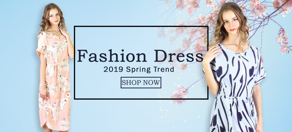 2019 Spring New Fashion Dress