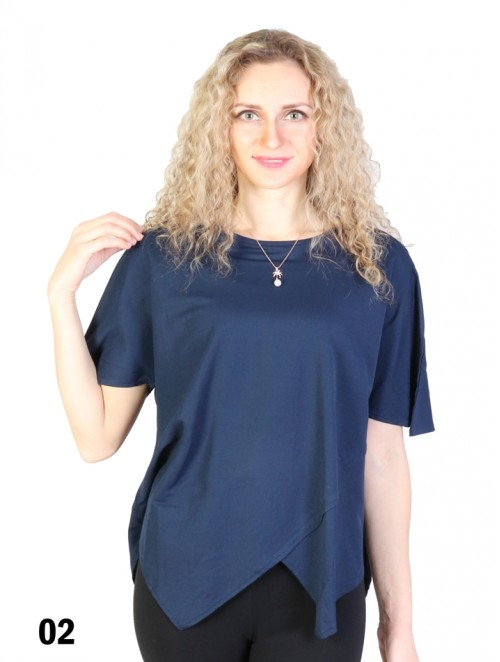 Irregular Short-Sleeved T-shirt