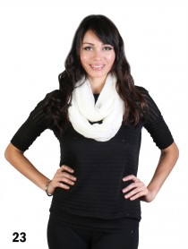 1 LAYER LACE KNIT LOOP