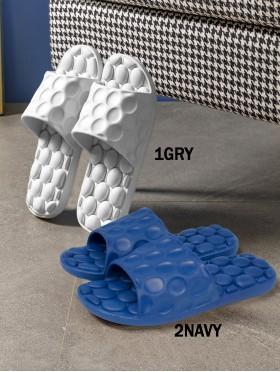 Solid Color Thick & Soft Sole Men's Sandals (6pc)