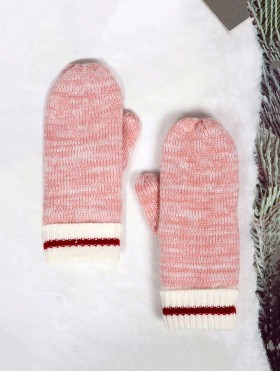 Knitted Double Layer Camp Mittens