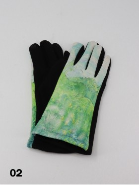 Oil Painting Design Touch Screen Glove