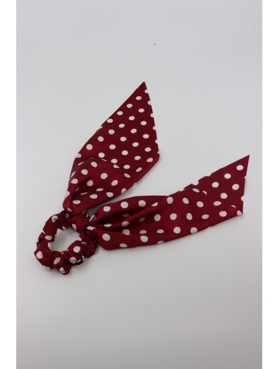 Polka Dot Fashion Hair Scrunchies