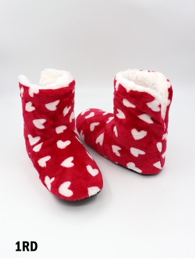 Large Hearts Light Weight Slipper Socks