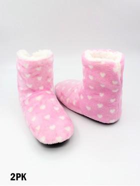 Small Hearts Light Weight Slipper Socks