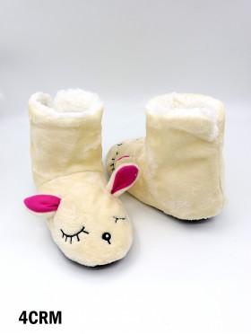 Fawn Light Weight Slipper Socks