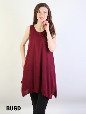Solid Color Fashion Tops