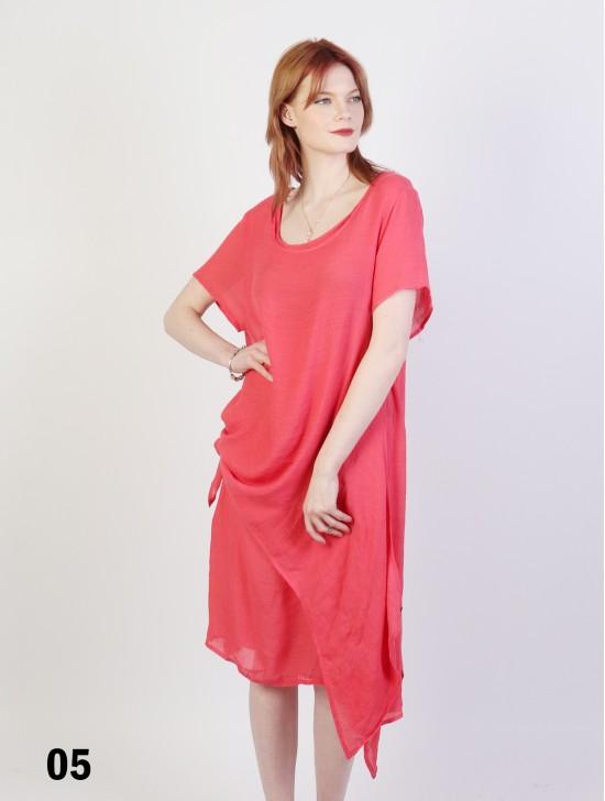Short Sleeved Layered Dress