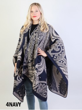 Paisley Patterned Cape