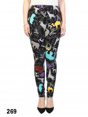 Animals Print Stretchy Legging