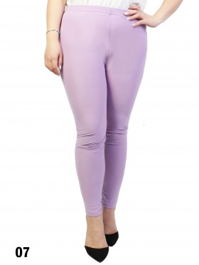 Plus Size Basic Stretchy Leggings