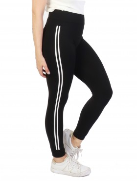 Women Double Striped Yoga/Running Pants