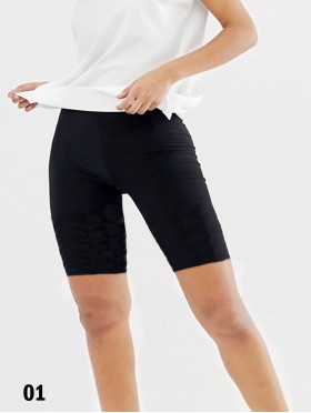 Basic Stretchy Biker Shorts