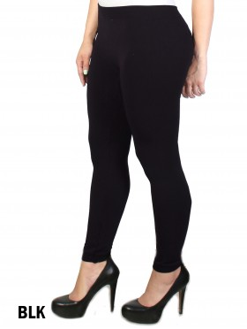 FOOTLESS, FLEECE LINED TIGHTS (Plus Size)