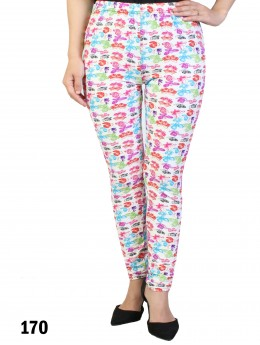 Extra Large Butterfly Print Legging
