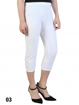 Plus Size Stretch Capri