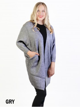 Knitted Vintage Sleeve Cape