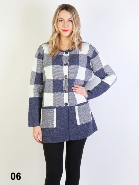Plaid Outwear W/ Buttons