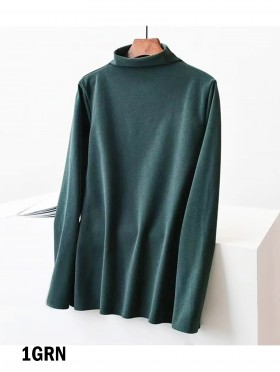 Mockneck Long Sleeves Sweater