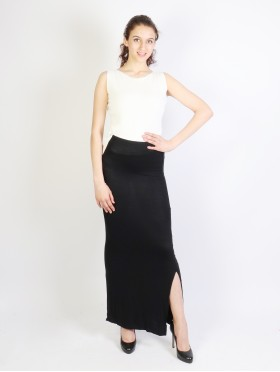 MULTI WAY SOLID MAXI SKIRT AND DRESS