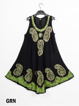 EMBROIDER PAISLEY SUNDRESS