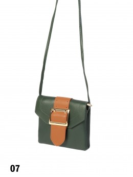 Faux Leather Cellphone Holder & Mini Purse W/ Belt