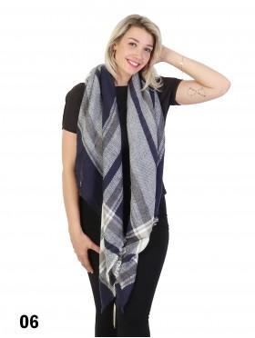 New Design Plaid Blanket Scarf