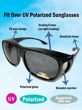Wear Over Sunglasses for Men Women Polarized Lens