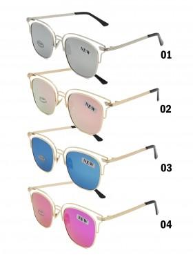 Aviator Mirror Fashion Sunglasses