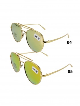 Aviator Mirror Fashion Sunglasses