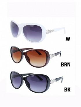 Silver Side Oversized Sunglasses