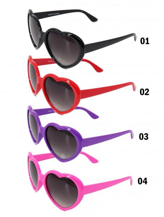 Heart Shaped Colorful Sunglasses