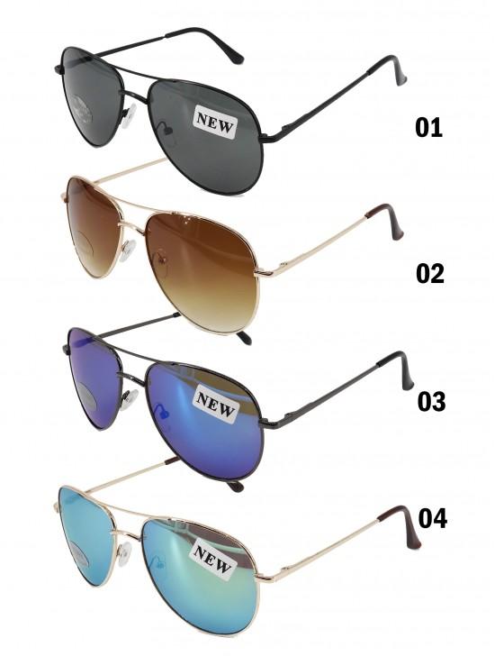 Aviator Mirror Fashion Sunglasses - Unisex