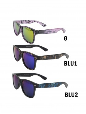 Basic Sunglasses W/ Colorful Frame