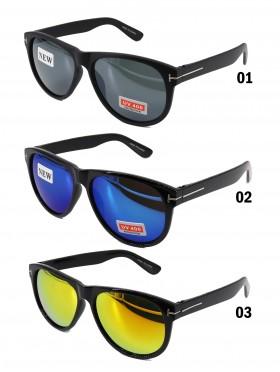 Basic Sunglasses W/ Colorful Lens