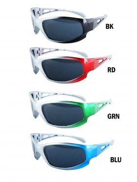 SPORT CUTOUT KIDS SUNGLASSES