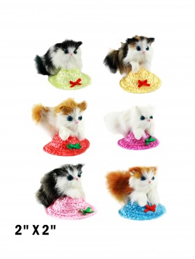 Cat on Hat (Set of 6)
