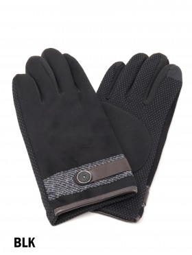 Unisex Touch Screen Glove with Button