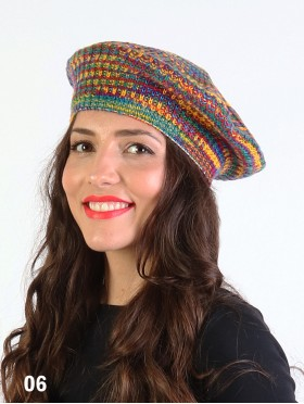 Multi-color Knit BERET