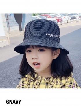 """Kid's """"Happy Everyday"""" Daisy Sun Hat"""