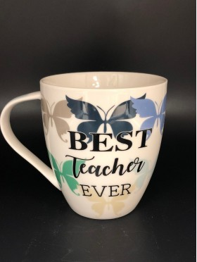 """Best Teacher Ever"" Mug"