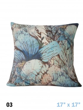 Flower Pattern Cushion & Filler