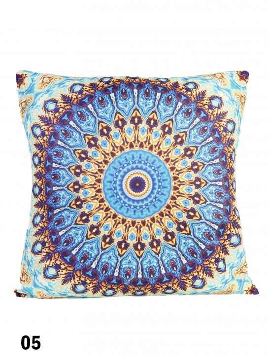 Kaleidoscope Print Cushion W/ Filler