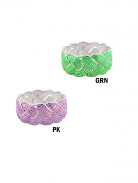 TEXTURE BRAIDED BANGLE