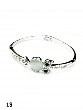 Owl Rhinestone Bracelet