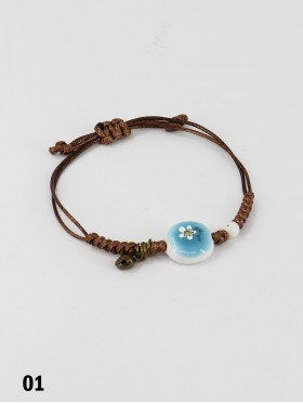 Stretch Bead Bracelets W/ Small Bell