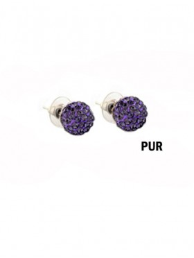 SHAMBALLA STUD EARRINGS (SMALL)