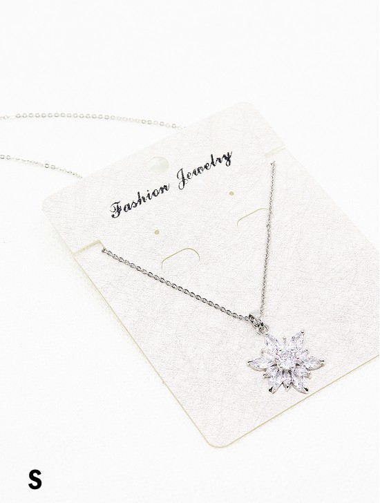 Rhinestone Star Necklace