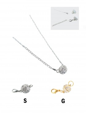 MAGNETIC NECKLACE PENDANT/CLAW (6 PCS)