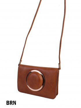 Premium Faux Leather Crossbody Bag